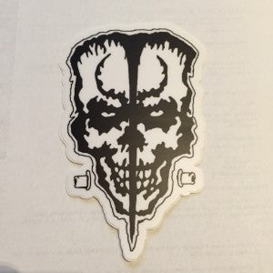 DOYLE Skull Sticker
