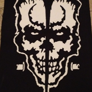 Skull Back Patch