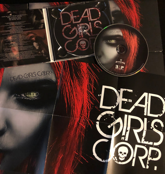 "Dead Girls Corp. cd ""Bloody Noses and Hand Grenades"" 2019"