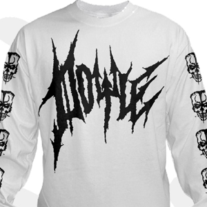Long Sleeve Skull Logo (white)