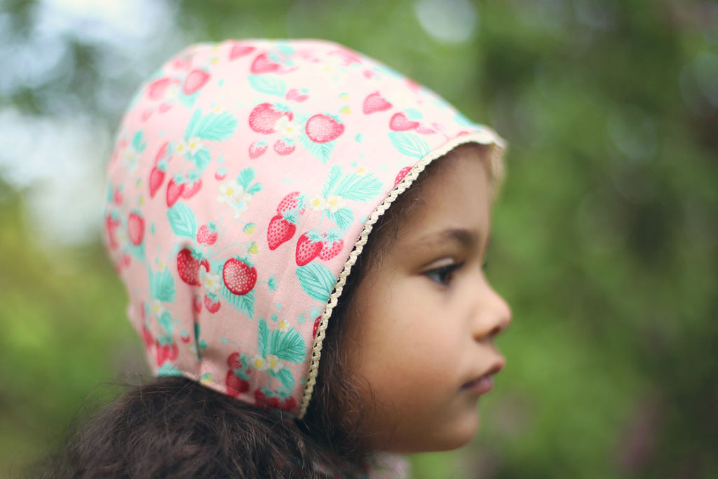Strawberry Patch Bonnet
