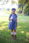 Rustic Chambray Linen Dress