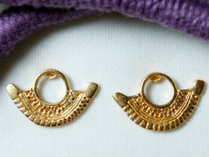 Pre-Colombian Choker and Earring Jewelry Set (1249-20-G03)