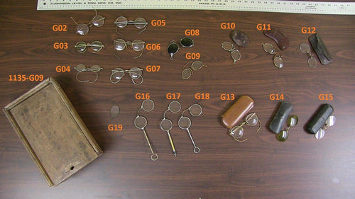 Vintage Eyeglasses (1307-G02 to G19)