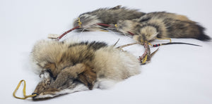 Huron Coyote Fur Dreamcatcher (1311-F-G2550)
