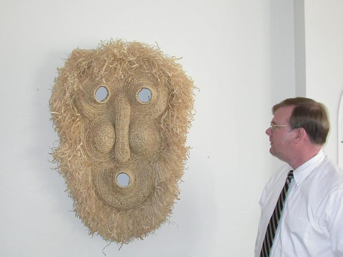 Extra Large Corn Husk Mask (G01)