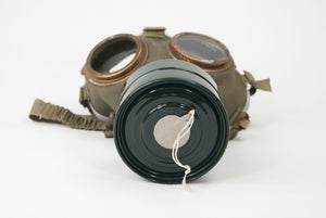Gas Mask with a Bag (1186-10-G1292)