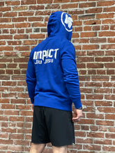 IMPACT JIU JITSU ZIP HOODY - ROYAL BLUE
