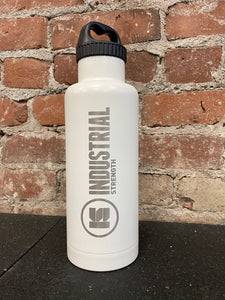 INDUSTRIAL STRENGTH WORDMARK BOTTLE - WHITE
