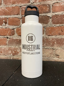 INDUSTRIAL STRENGTH ICON BOTTLE - WHITE