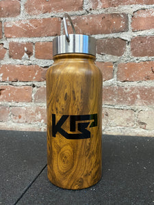KEEP PORTLAND STRONG Wood Thermos