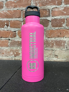 INDUSTRIAL STRENGTH WORDMARK BOTTLE - PINK