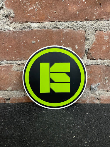 Industrial Strength Icon Sticker