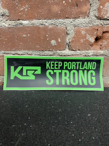 Keep Portland Strong Sticker