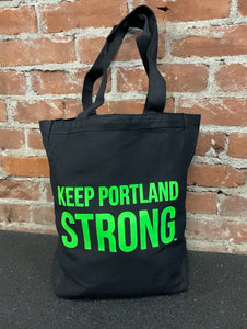 KEEP PORTLAND STRONG Reusable Grocery Tote