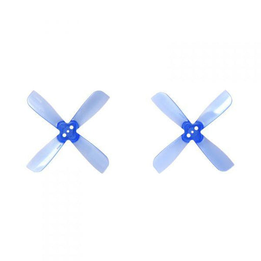 Gemfan PC 2035 BN Bullnose 4-Blade Polycarbonate Unbreakable Clear/Clear Blue/Clear Purple