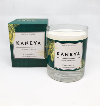 Evergreen Coco wax Candle