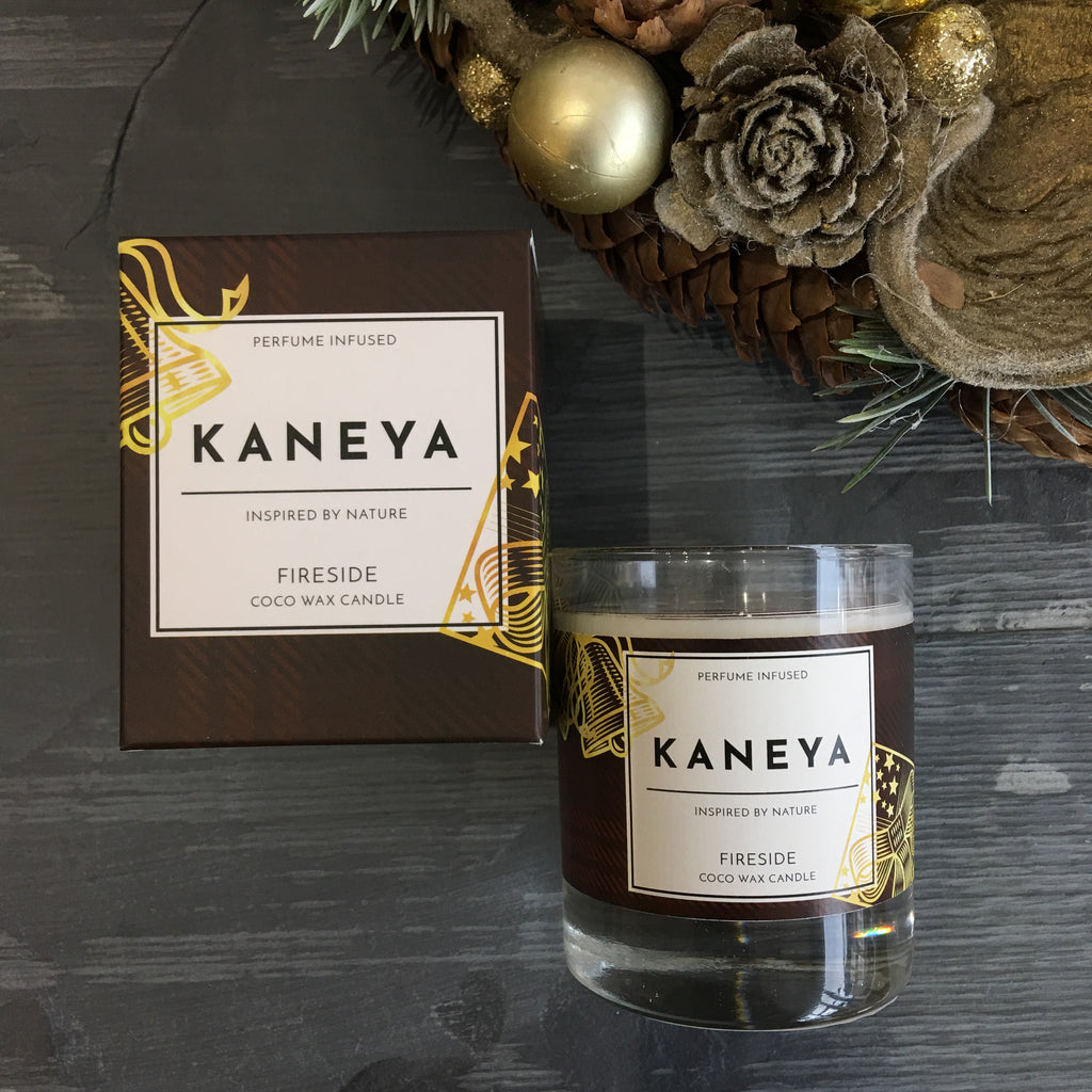 Fireside Coco wax Candle