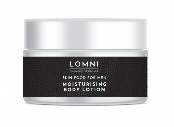 LOMNI Skin Food for Men Moisturising Face Lotion