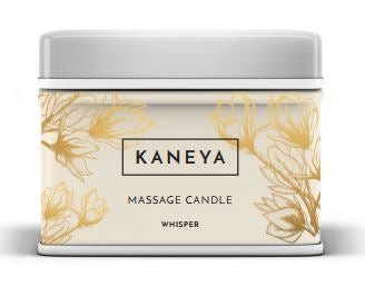 Whisper Therapy Massage Candle