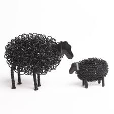 Wiggle Lamb & Sheep Ornament