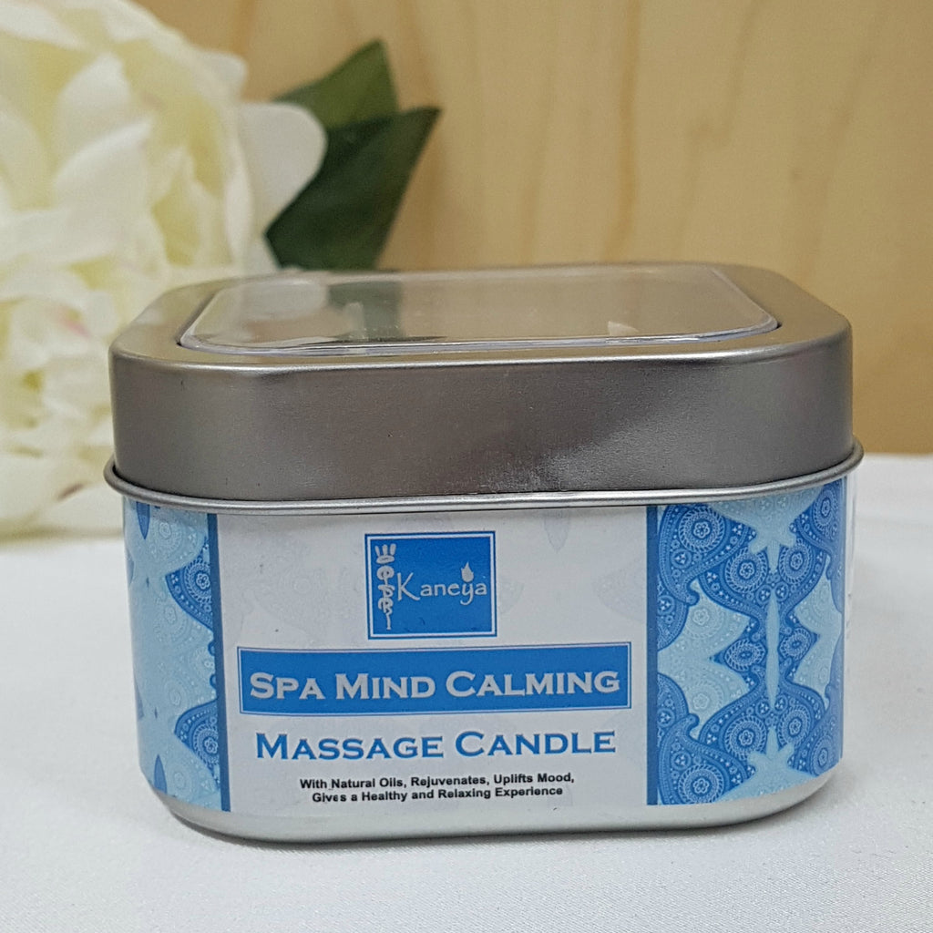 Spa Mind Calming Therapy Massage Candle