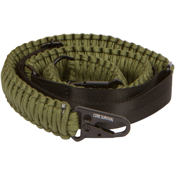 Paracord Gun Sling Traditional 2 Point Adjustable Strap for Outdoor Sports