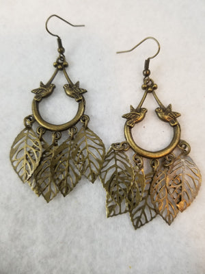 Antique Golden #3 Earrings