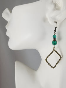 Antique Golden #4 Earrings