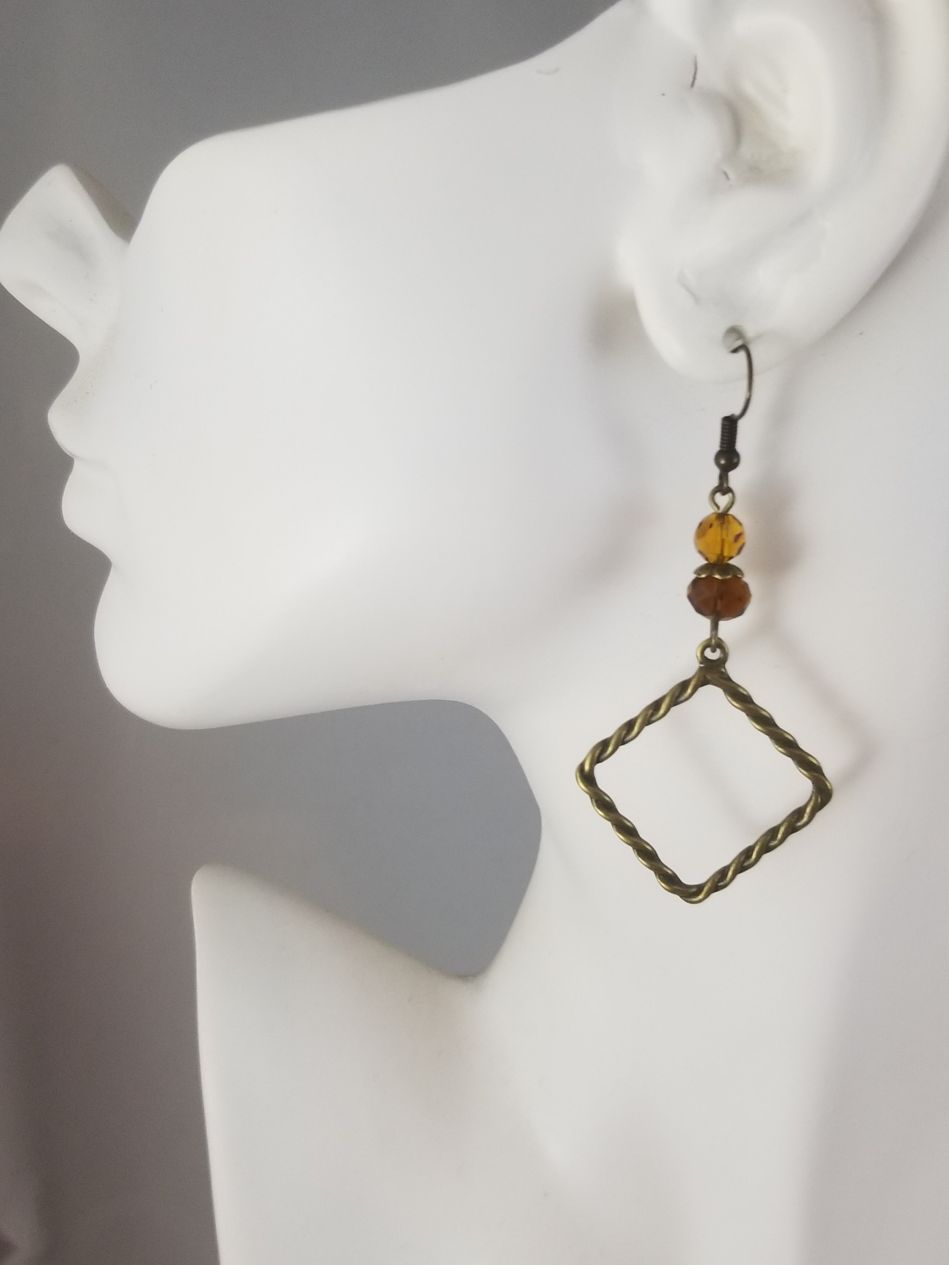 Antique Golden #9 Earrings