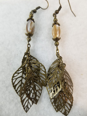 Antique Golden #1 Earrings