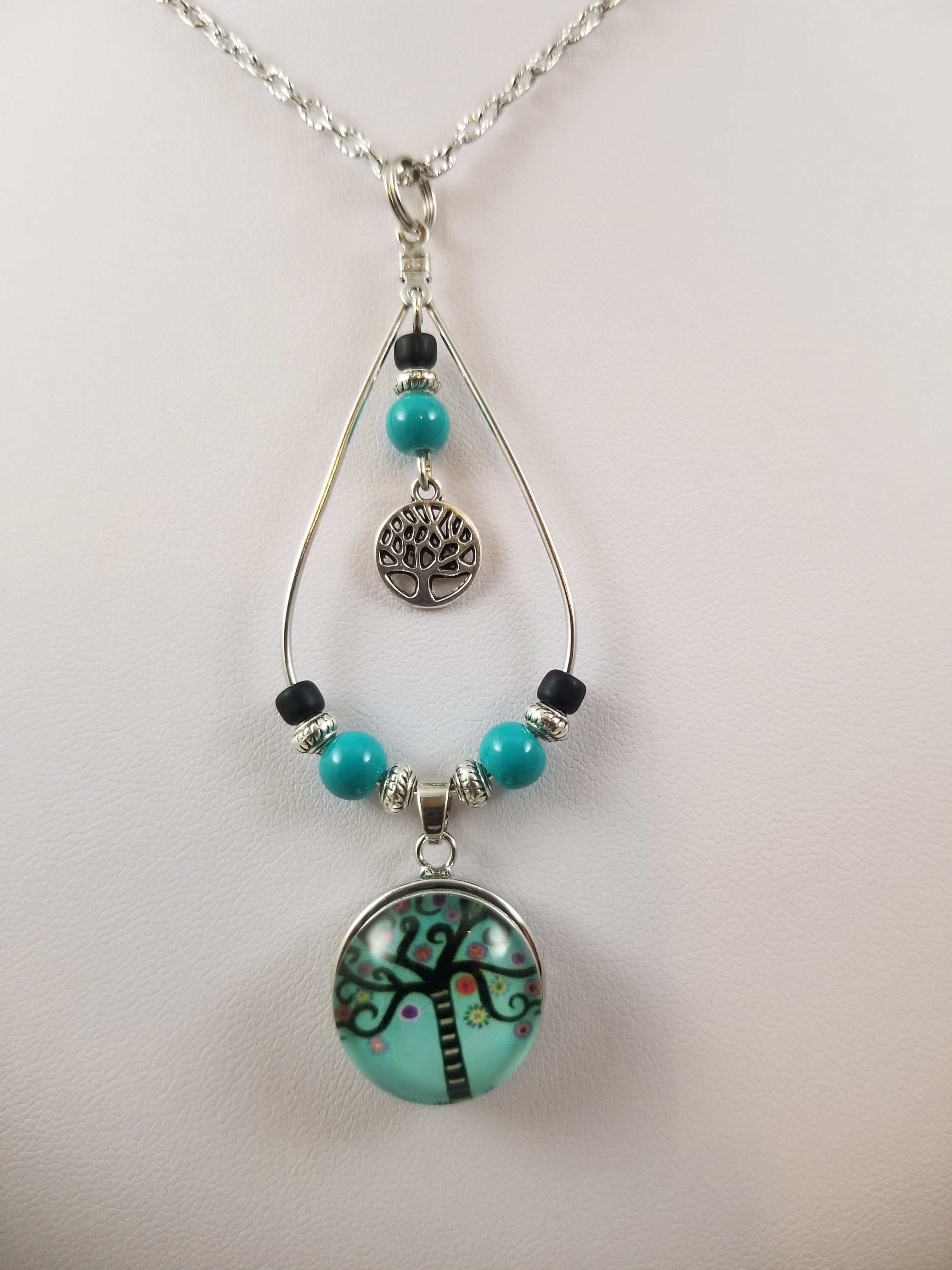 Aqua Tree Simply Charming Necklace