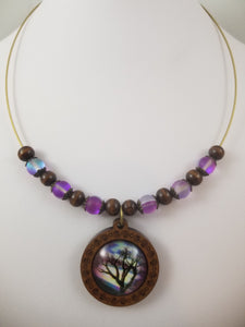 Beautiful Tree Necklace