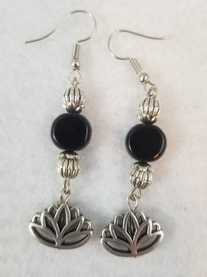Black #53 Earrings