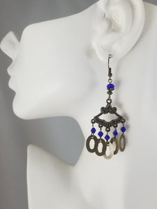 Blue #33 Earrings