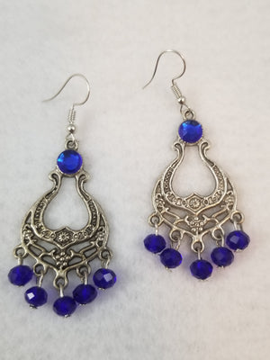 Blue #36 Earrings