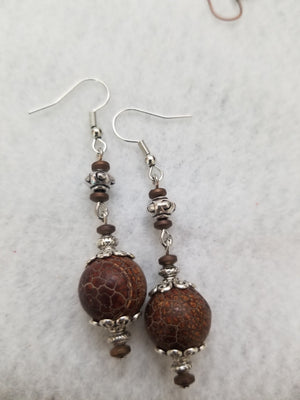Brown #47 Earrings