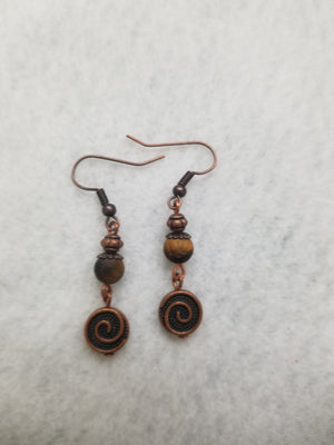 Brown #77 Earrings