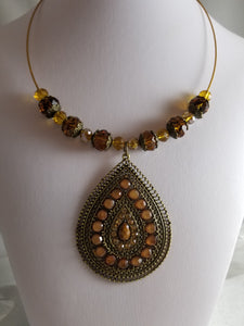 Brown Delight Necklace