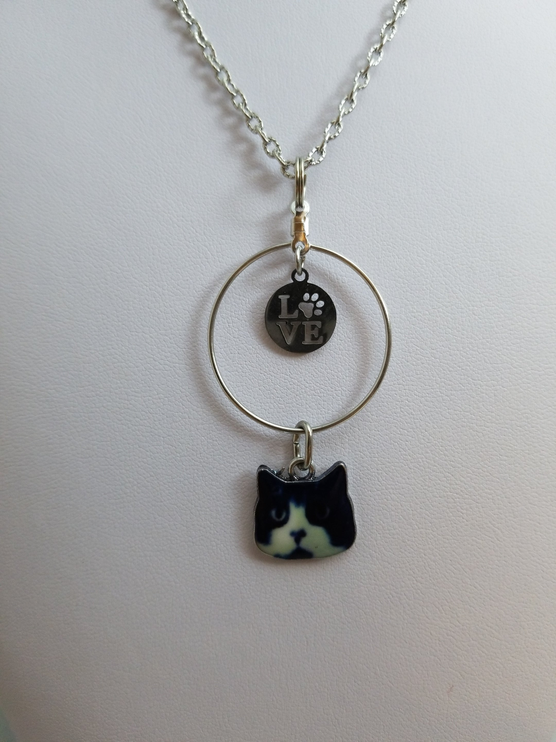 Cat Love 4 Simply Charming Necklace
