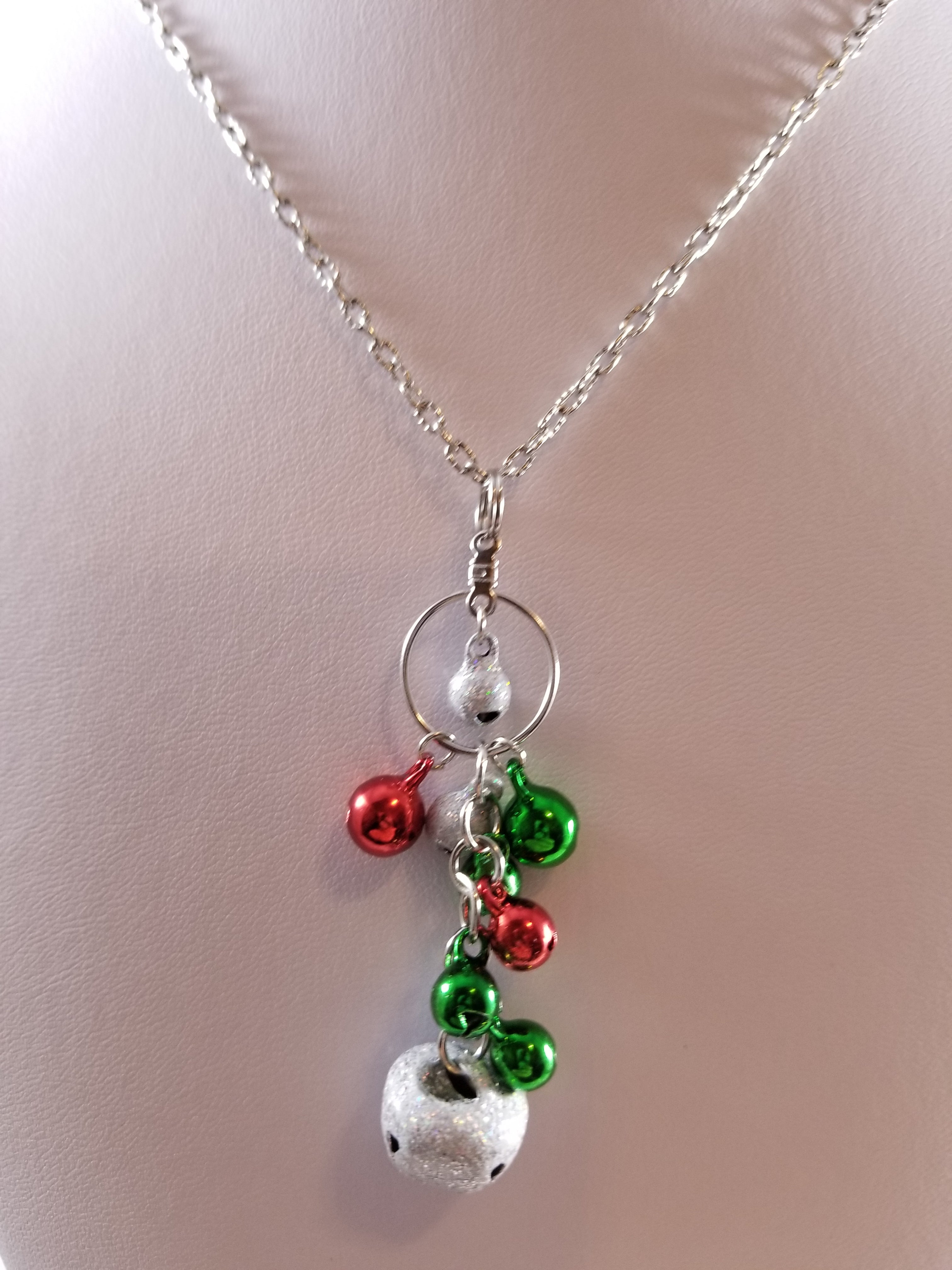 Christmas Bells 2 Simply Chaming Christmas Necklace