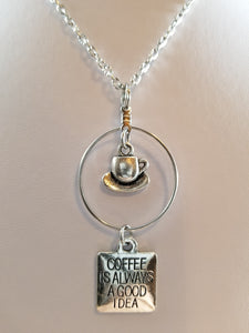 Coffee Simply Charming Necklace