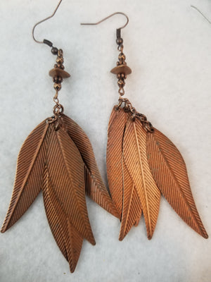 Copper #14 Earrings