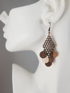 Copper #16 Earrings