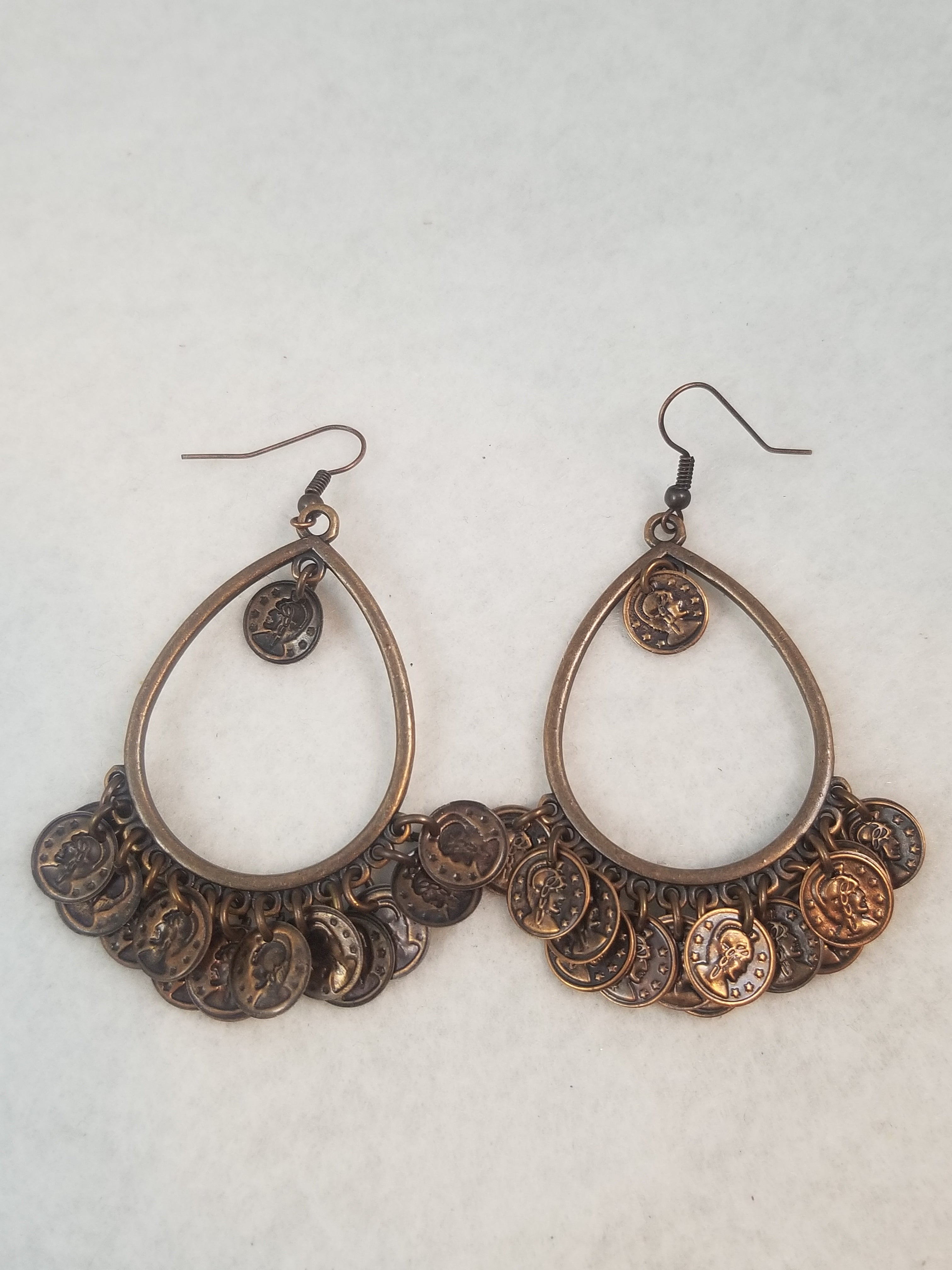 Jingle Jangle Copper Earrings