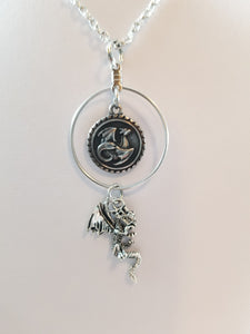 Dragon 2 Simply Charming Necklace