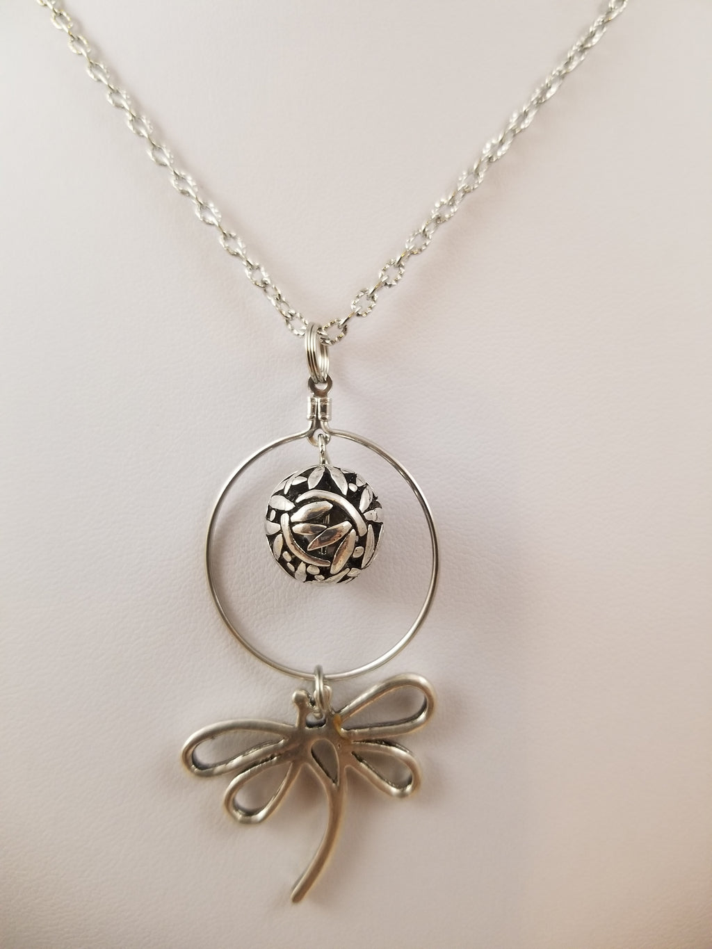 Dragonfly Ball Simply Charming Necklace