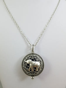Elephant Diffuser Locket
