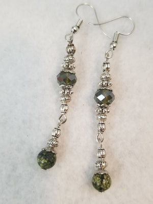 Green #10 Earrings