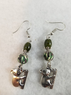 Green #26 Earrings